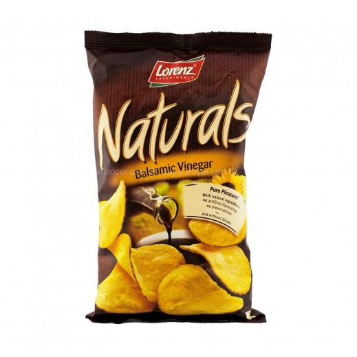 لورينز - رقائق بطاطا طبيعية خالية من الغلوتين بنكهة الخل البلسمي 100 جم