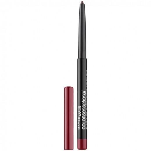 """مابيلين – قلم تحديد الشفاه إكساجيريت """"Color Sensational Shaping"""" درجة 110 لون احمر"""