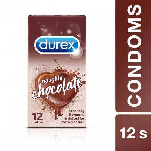ديوركس – واقي ذكري بنكهة الشوكولاتة 12 حبة