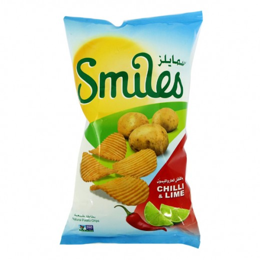 Fico Smiles Chilli & Lime Chips 27 g
