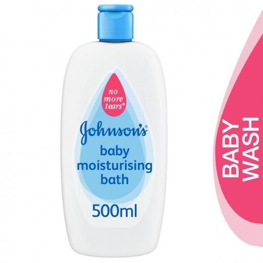 جونسون بيبي، سائل استحمام مرطب للأطفال 500 مل