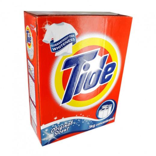 تايد - مسحوق الغسيل العطر الأصلي للغسالات العادية 3 كجم
