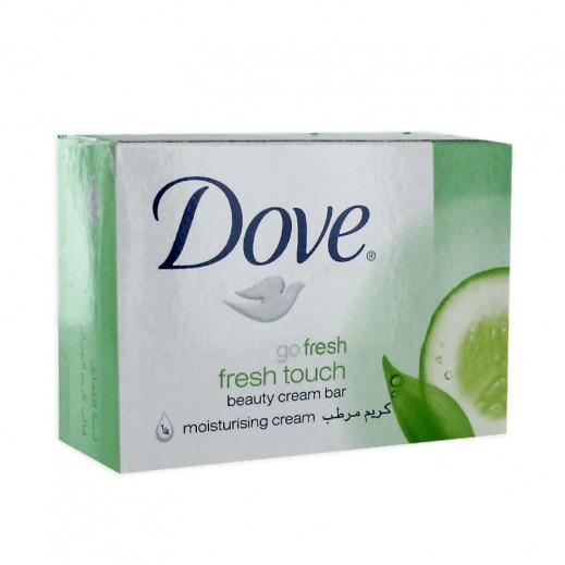 دوف – صابون الإستحمام بخلاصة الخيار والشاي الأخضر 135 جم