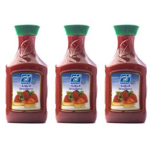المراعي - عصير فراولة 3 حبة ×  1.75 لتر - أسعار الجملة