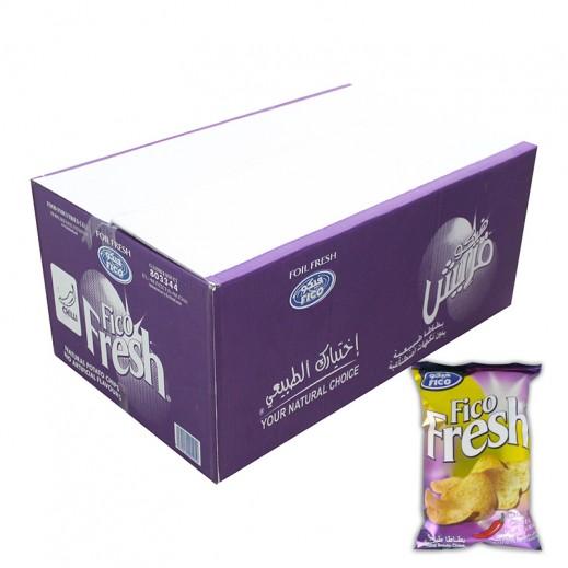 فيكو فريش - طعم الفلفل الحار 18 × 80 جم