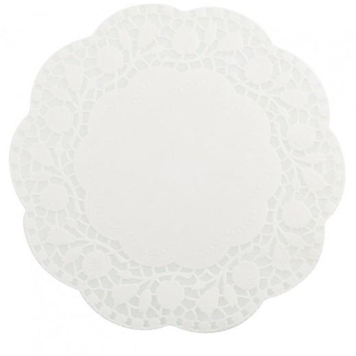 ميتالتيكس- شرشف طاولة بقطر 26 سم × 15 حبة – دائري