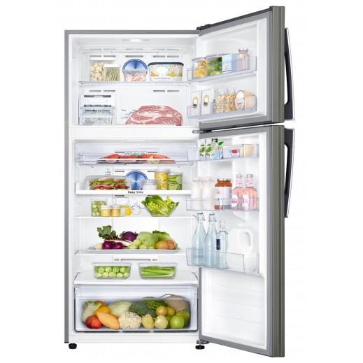 سامسونج - ثلاجة مزدوجة الأبواب مع صانع الثلج سعة 600 لتر   - يتم التوصيل بواسطة AL ANDALUS TRADING COMPANY