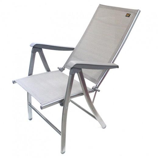 كرسي إتكاء قابل للطي بقماش شبكي