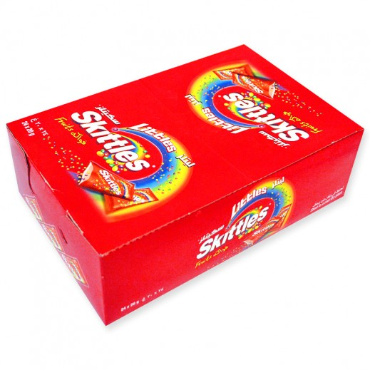 سكيتليز - حلوى الفواكه الطبيعية 72 × 10 جم