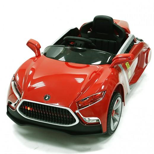 سيارة الكترونية للصغار - أحمر - يتم التوصيل بواسطة كليك تويز خلال 3 أيام عمل