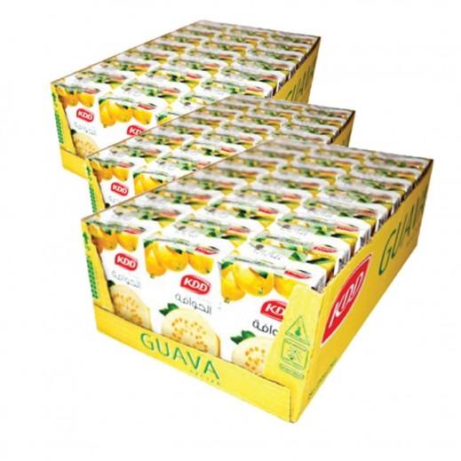 كى دى دى - عصير الجوافة نكتار 250 مل ( 3 كرتون × 24 حبة ) -  أسعار الجملة