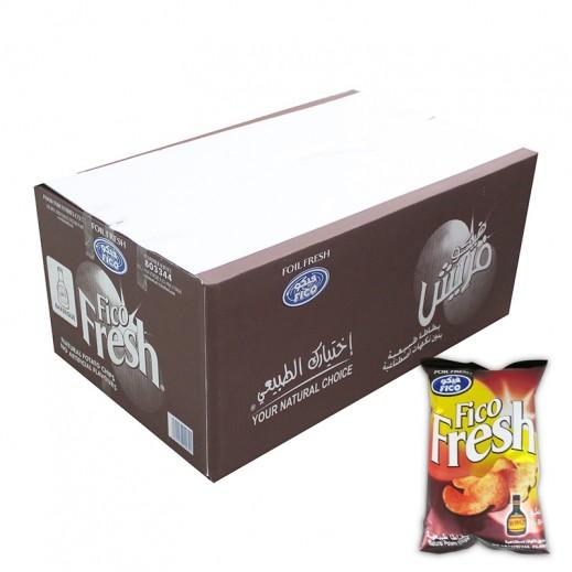 فيكو فريش - بنكهة الباربيكيو 18 × 80 جم