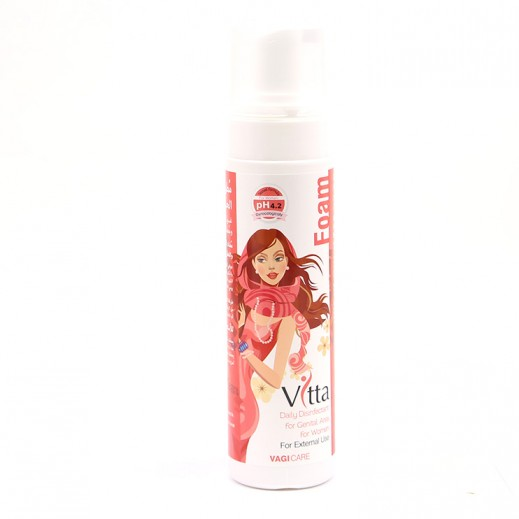 فيتافوم – مطهر ومعطر للمناطق الحساسة للنساء 250 مل