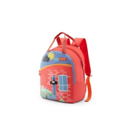 أميركان توريستر - حقيبة ظهر Coodle 02 مدرسية - أحمر