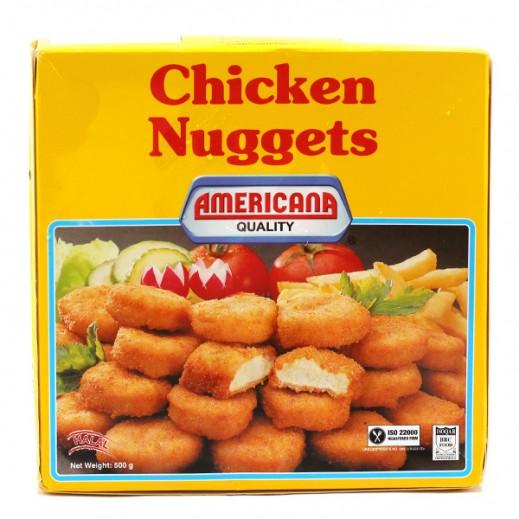 أمريكانا - دجاج ناجتس - عبوة عائلية 500 جم