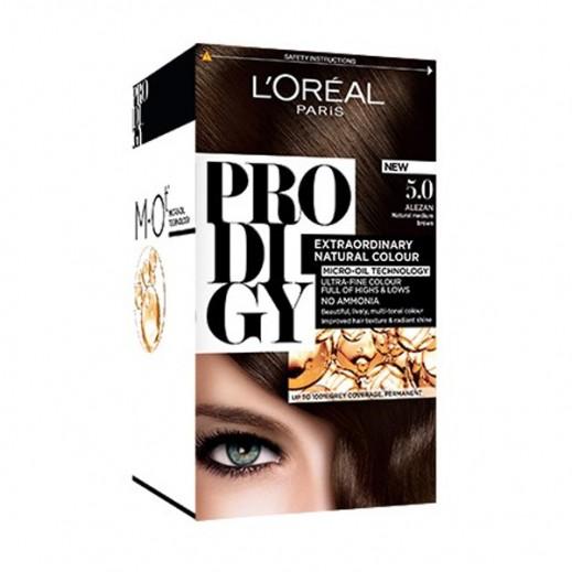 """لوريل باريس – صبغة شعر """"Prodigy"""" الطبيعية رقم 5 لون بني غامق"""