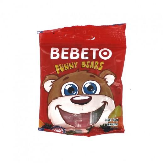 بيبيتو - حلوى جيلي الدب المرح 24 حبة × 20 جم