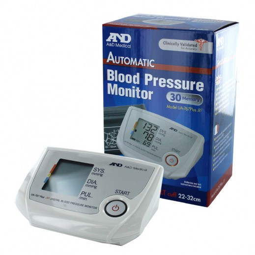 إيه & دي – جهاز قياس ضغط الدم من أعلى الذراع UA-767 Plus