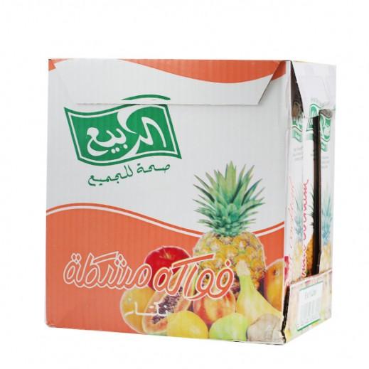 الربيع - عصير كوكتيل الفاكهة نكتار 1 لتر (6 حبة)