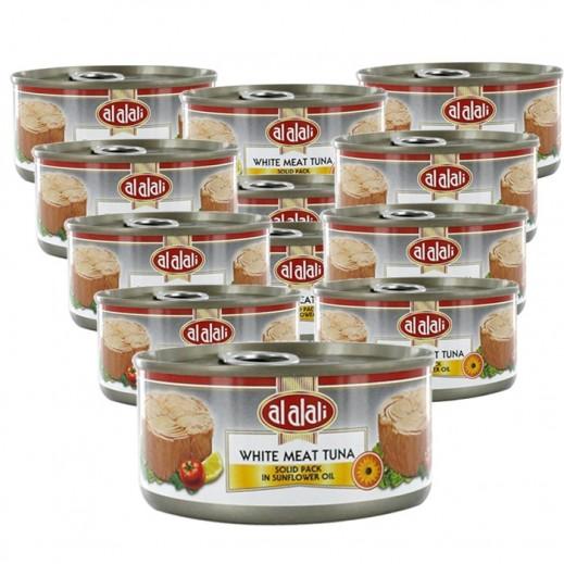 العلالي - لحم تونة أبيض في زيت دوار الشمس 170 جم (12 حبة) - أسعار الجملة