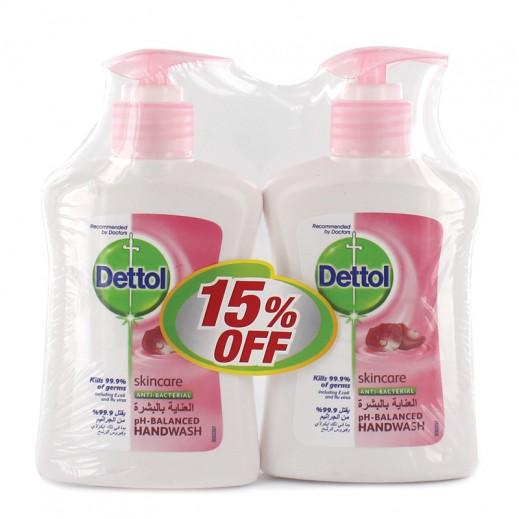 """ديتول - سائل """"العناية بالبشرة """" لغسل اليدين - 2 × 200 مل( عرض 15 % خصم )"""