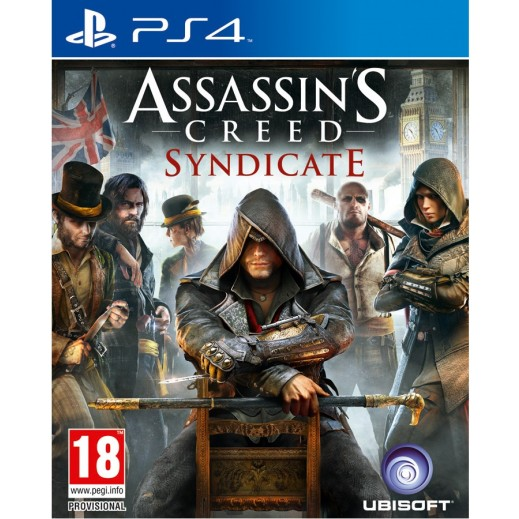 لعبة ASSASSINS CREED SYNDICATE لجهاز PS4 نظام  PAL (عربي)