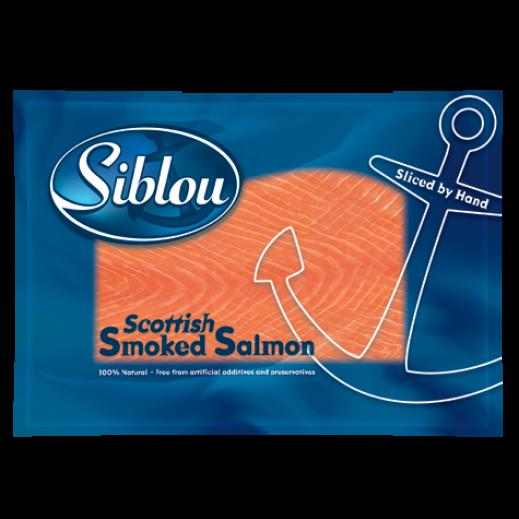 سيبلو - شرائح سلمون مدخن اسكتلندي مجمد 100 جم