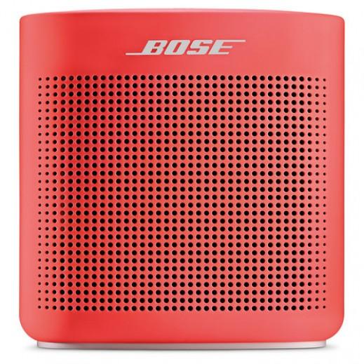 """بوز – سماعة لاسلكية مع مايك """"كولر II"""" – أحمر - يتم التوصيل بواسطة aDawliah Electronics"""