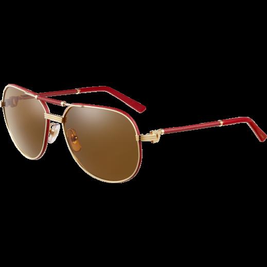 كارتير – نظارة شمسية (Santos ) أحمر للسيدات   - يتم التوصيل بواسطة Waleed Optics