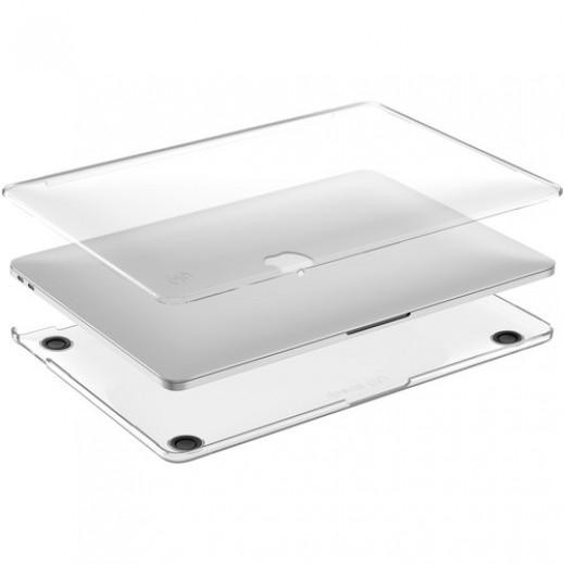 سبيك – غطاء لماك بوك 13 إنش مع لوحة اللمس – شفاف