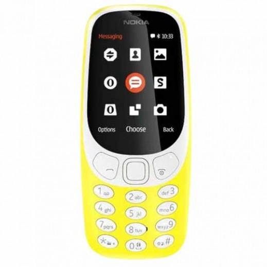 نوكيا - 3310 شريحتين SIM - اصفر