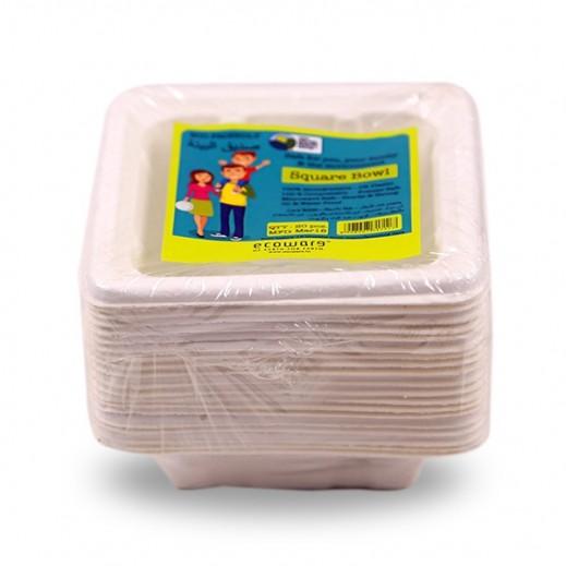 إيكووير - أوعية طعام قابلة للتحلل 20 حبة