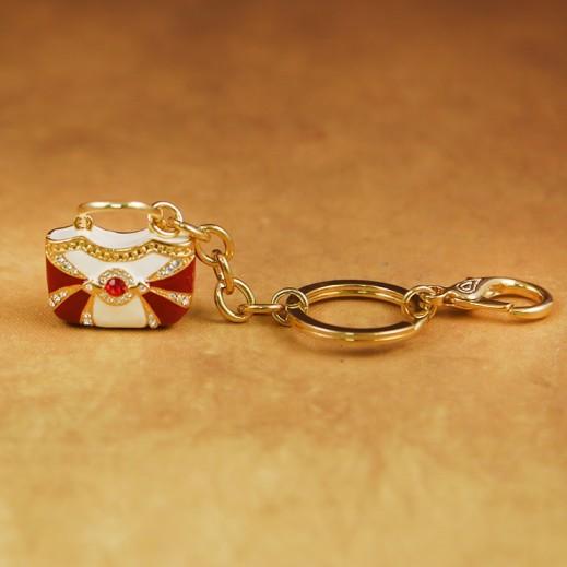 بيبلوس – حاملة مفاتيح - ذهبي/أحمر