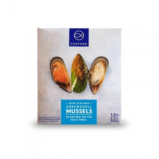محار مجمّد (نصف محارة) نيوزيلاندي 2 كجم  - يتم التوصيل بواسطة سمك إكسبرس خلال 24 ساعة