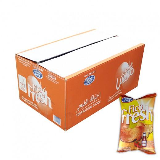 فيكو فريش - بنكهة كاتشب الطماطم 18 × 80 جم