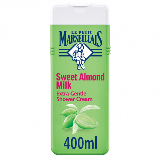 لو بيتيت مارسيليا - كريم استحمام فائق اللطف بحليب اللوز الحلو 400 مل
