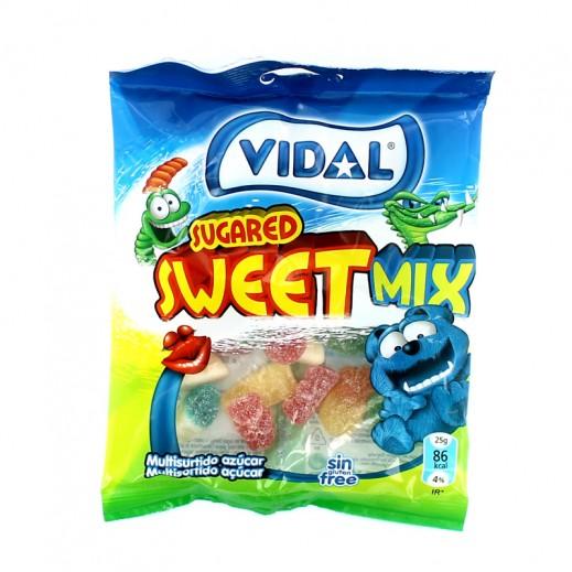 فيدال – حلوى سويت ميكس بالسكر 100 جم