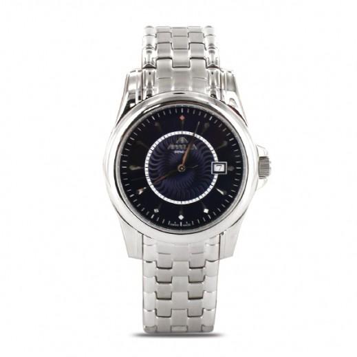 أبيلا – ساعة يد سويسرية للرجال بهيكل من الستانليس ستيل موديل (AP-4021.03.0.0.06)