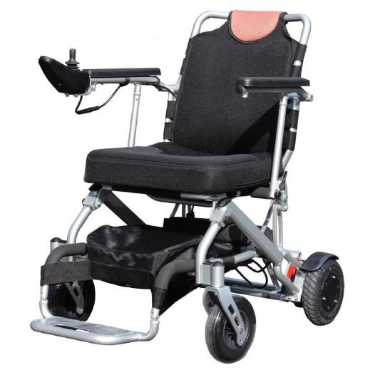 اشتري العيسى كرسي العيسى الكهربائي متحرك خفيف الوزن مع حقيبة