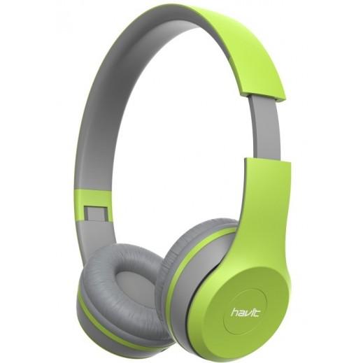 هافت - سماعات لاسلكية قابلة للطي - أخضر