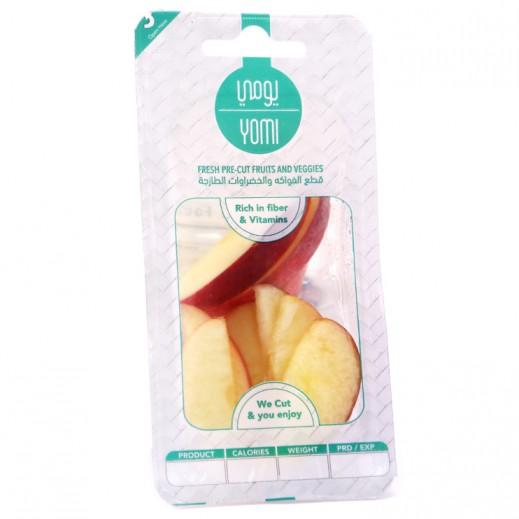 يومي تفاح أحمر طازج شرائح 60 جرام عبوة