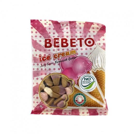 بيبيتو - حلوى جيلي على شكل الآيس كريم 175 جم
