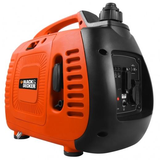 بلاك أند ديكر – مولد طاقة و محول صامت 2.1 لتر 950 واط – برتقالي - يتم التوصيل بواسطة Market Vision Trading