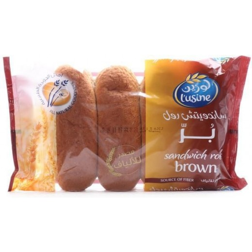 Lusine Brown Sandwich Roll 200 g