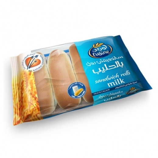 Lusine Milk Sandwich Roll 200 g