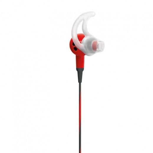 بوز – سماعة الرأس الرياضية لآي فون – أحمر - يتم التوصيل بواسطة aDawliah Electronics
