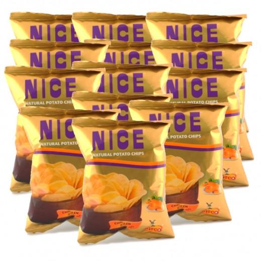 شيبسي - نايس بطعم الدجاج 30 جرام (10 حبة)