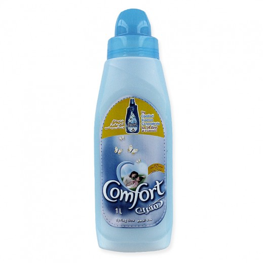 كومفورت – منعم الأقمشة الأزرق ندى الربيع 1 لتر