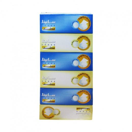 سانيتا – مناشف ورقية غير معطرة 5 حبة + 1 مجاناً