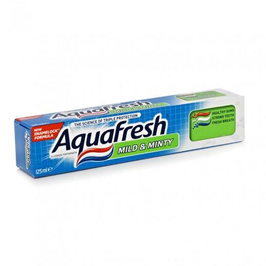 أكوافريش – معجون أسنان لطيف بنكهة النعناع 125 مل